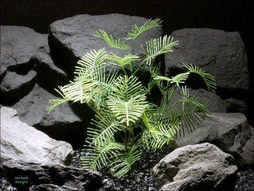 plastic aquarium plant star glory pap077 ron beck designs