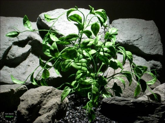 plastic aquarium plants wondering vine pap087 ron beck designs