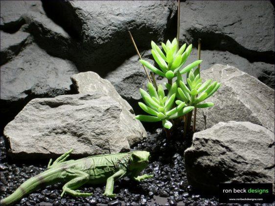 reptile habitat plants succulent bmb prp031 plstc. ron beck designs