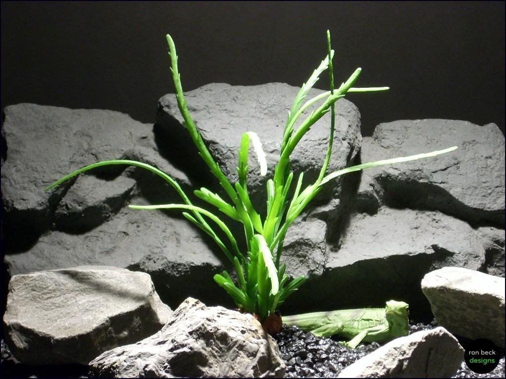 reptile habitat plants   succulent prp055 latex rubber   ronbeckdesigns.com