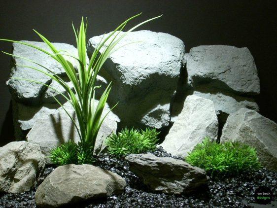 plastic aquarium plant grass blades and turf papc093 ron beck designs