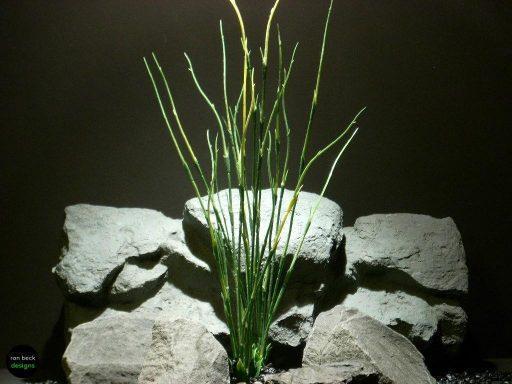plastic aquarium plants high reeds pap091 ron beck designs