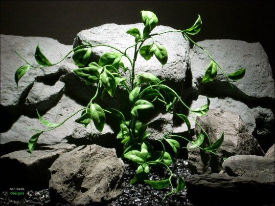 plastic aquarium decor plants wondering vine pap088 ron beck designs