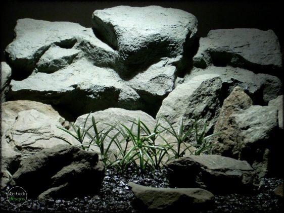 Sword Leaf Plot - Artificial Aquarium Plants parp287