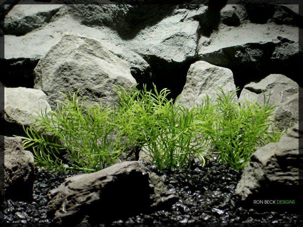 Guppy Grass Plot - Artificial Aquarium Plant - parp321