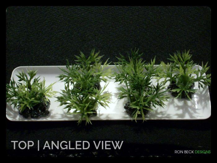 Low Saw-blade Grass Plot - Artificial Aquarium Plant - parp323 3