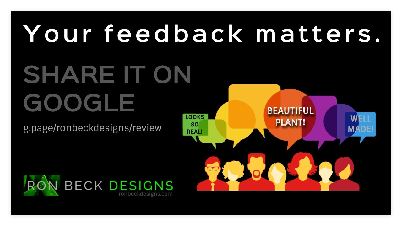 Google Customer Review - Ron Beck Designs - Black - 1280 720