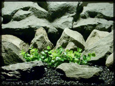 Artificial Boxwood Plot - Artificial Aquarium Plant - parp340 (1)