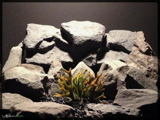 Artificial Hartshorn - Plastic Reptile Habitat Plant - prp346