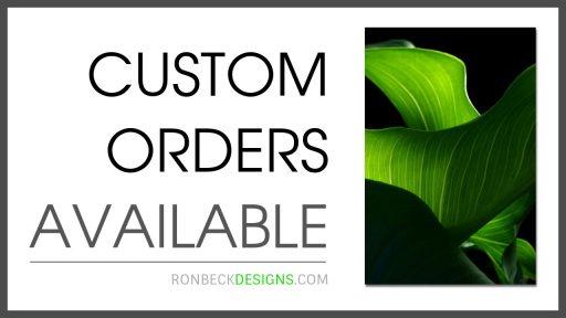 14 Custom Orders - Ron Beck designs - 1280 720 White 1280 720