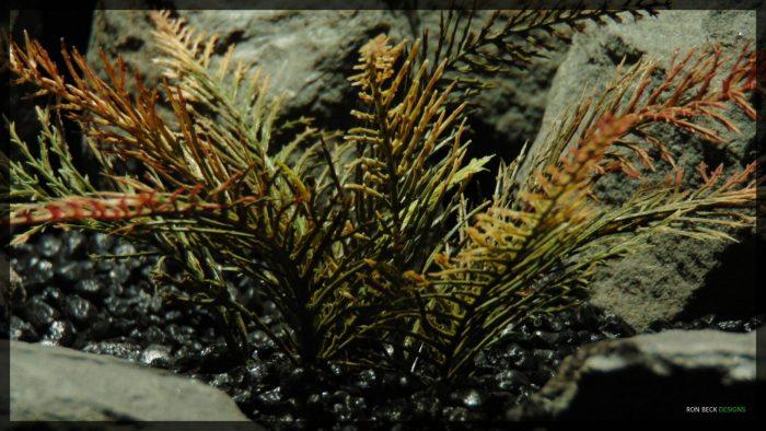 Artificial Spiked Fern - Artificial Aquarium Plant - parp360 3