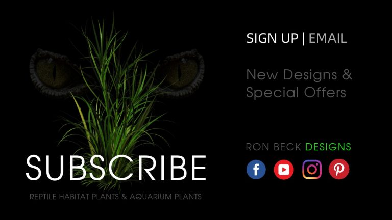 Subscribe - Ron Beck Designs - Social Media - 1280 720