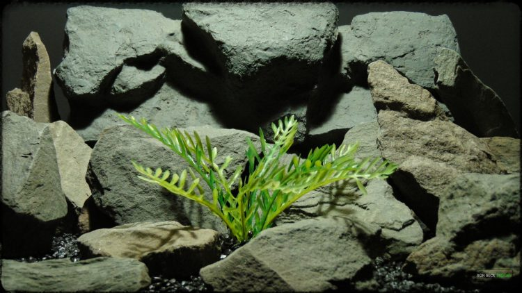 Artificial Jurassic Fern - Artificial Reptile Habitat Plant - prp368