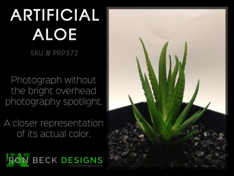 Artificial Aloe Plant - Artificial Reptile Desert Decor Plant Succulent - prp372 lighting