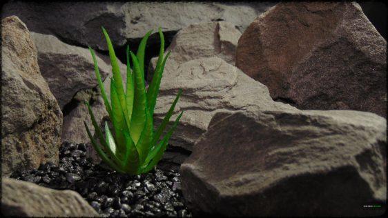 Artificial Aloe Plant - Artificial Reptile Desert Decor - prp372 1920 1080 2