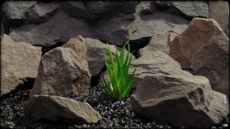Artificial Aloe Plant - Artificial Reptile Desert Decor - prp372