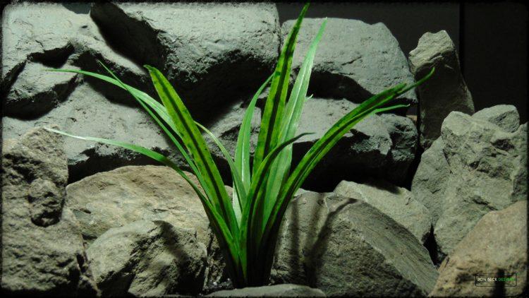 Artificial Dracaena - Artificial Reptile Terrarium Plant - prp379 2