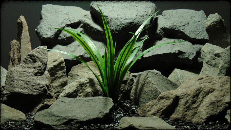 Artificial Dracaena - Artificial Reptile Terrarium Plant - prp379