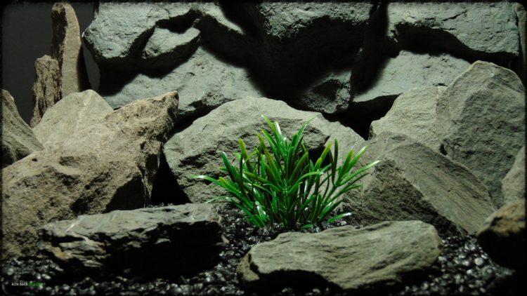 Artificial Green Matai - Artificial Aquarium Plant - parp371