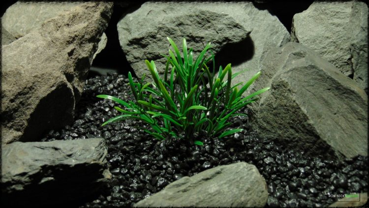 Artificial Green Matai Plant - Artificial Aquarium Plant - prp372 3