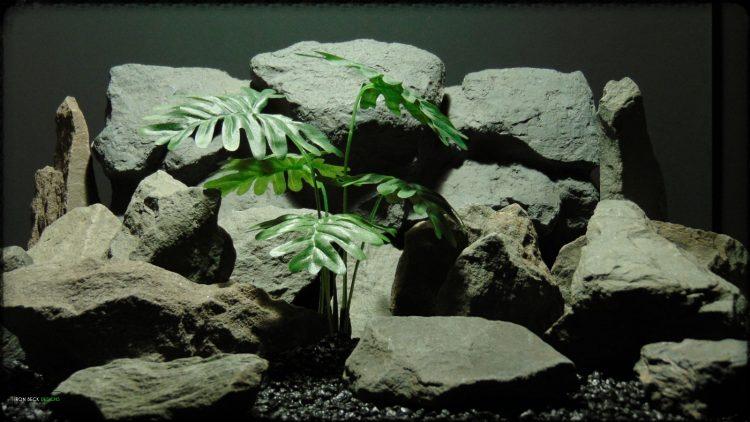 Artificial Philodendron Bipennifolium - Artificial Silk Reptile Terrarium Plant - SRP381