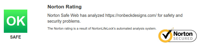 Norton Saftey Security Rating - Ron Beck Designs - Artificial Plants