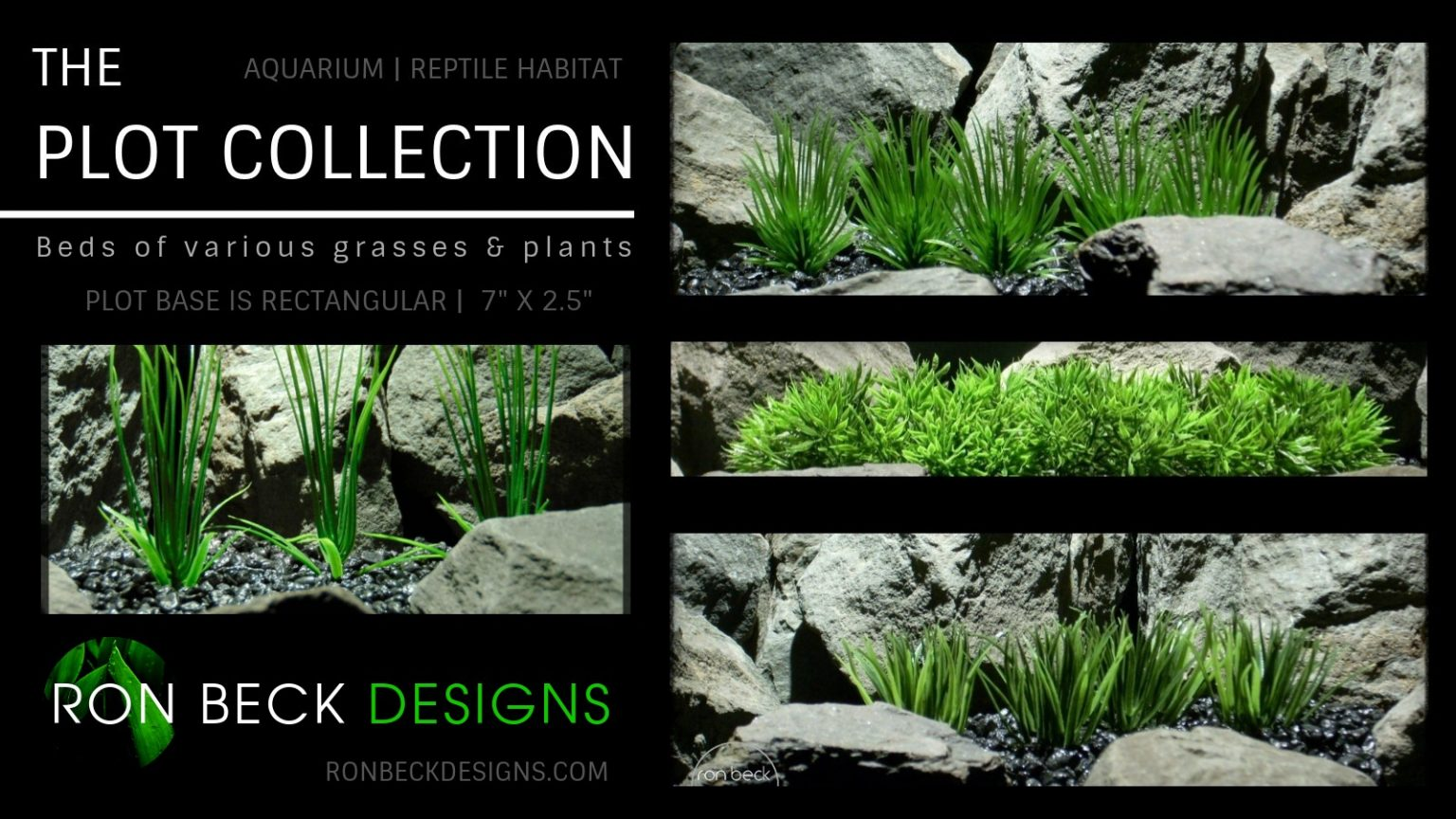 Plot Collection - Artificial Plants - Ron Beck Designs 1600 x 900