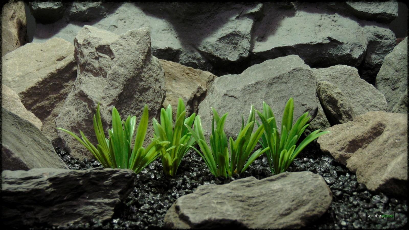 Artificial River Grass Plot - Artificial Aquarium Decor Plant - PARP387