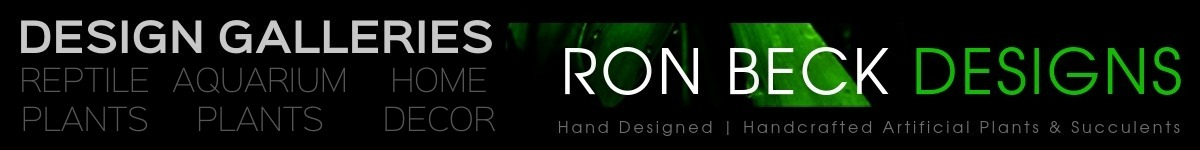Design Galleries - Portfolio - Ron Beck Designs - 1200 150