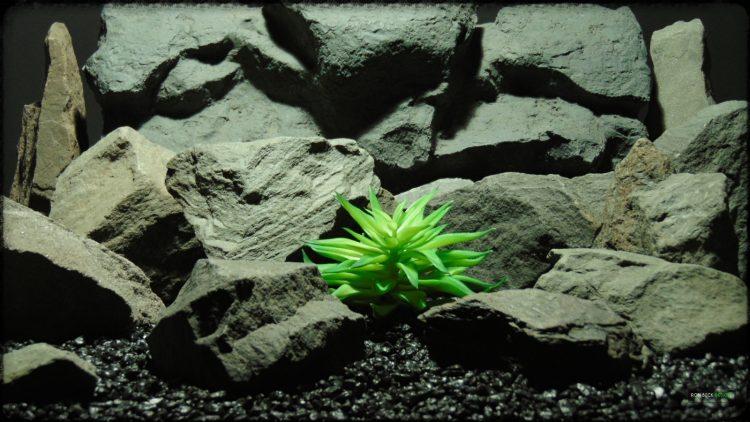 Artificial Fire Echeveria - Reptile Habitat plant Succulent - PRP394
