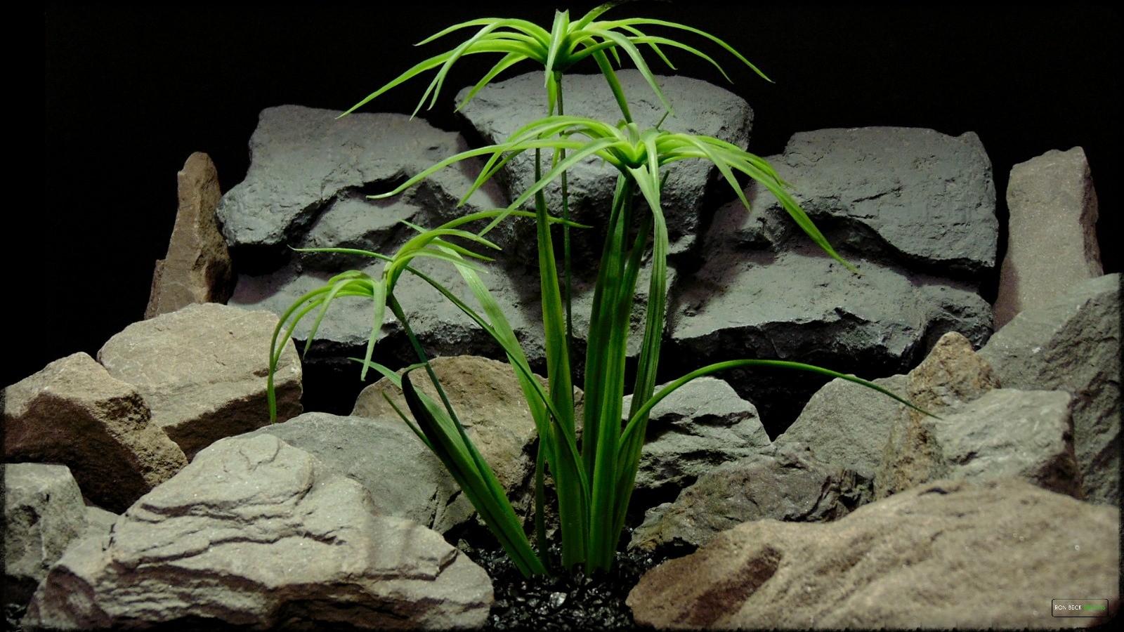 Artificial Plant - Cypress Grass - Reptile Habitat Plant - Ron Beck Designs prp395