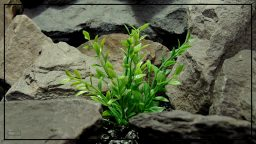 Artificial Spring Greenery Bush - Aquarium Plant or Reptile Plant - parp416