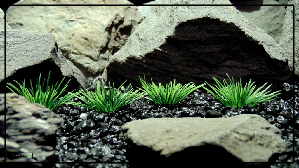 Artificial Urchin Grass Plot - Artificial Aquarium Plants - parp412