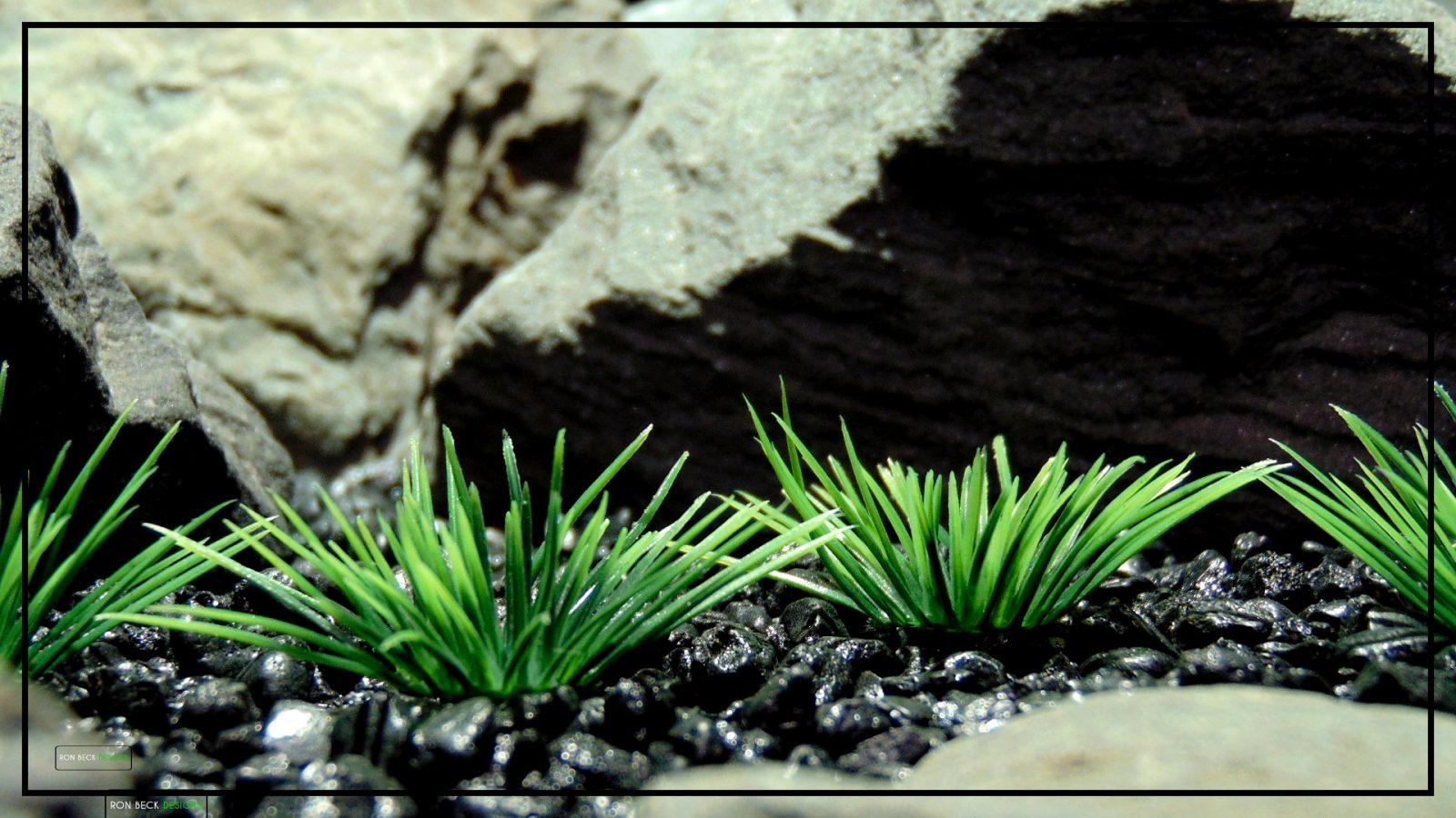 Artificial Urchin Grass Plot - Artificial Aquarium Plants - parp412 2