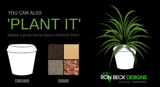 You can also plant it - Artificial Plants and Suculents - Ron Beck Designs - 1140 622 Etsy
