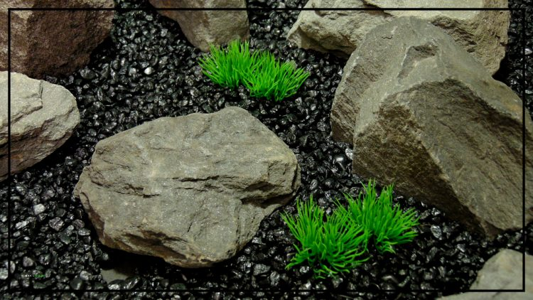 Artificial Aquarium Plant - Moss Grass Soft Touch - parp422 3