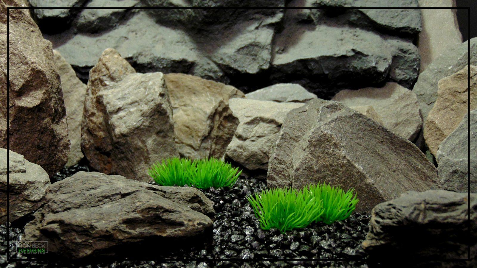 Artificial Aquarium Plant - Moss Grass Soft Touch - parp422