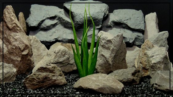 Artificial Soft Grass - Reptile Habitat or Home Decor Plant - prp419