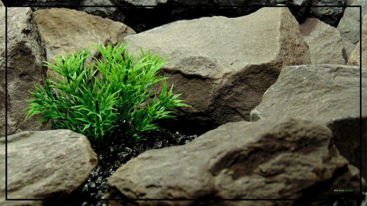 Spiky Bush - Artificial Aquarium Decor Plant - parp420 3