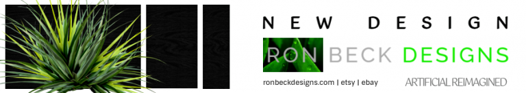 New Designs - Artificial Plants and Succulents - Ron Beck Designs 900 160